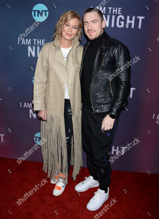 Editorial image of 'I Am The Night' TV Show Premiere, Arrivals, Harmony Gold, Los Angeles, USA - 24 Jan 2019