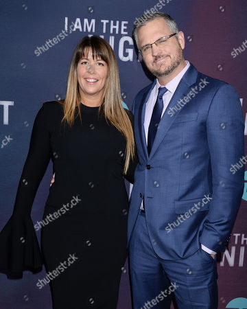 Patty Jenkins and husband Sam Sheridan