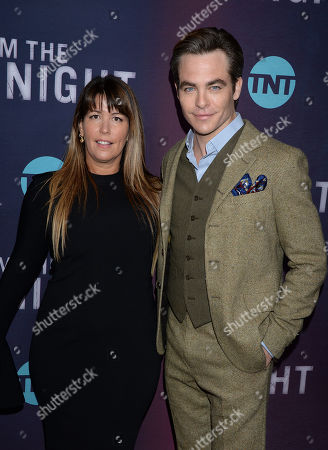 Chris Pine and Patty Jenkins