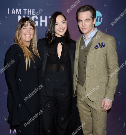 Patty Jenkins, Gal Gadot, Chris Pine