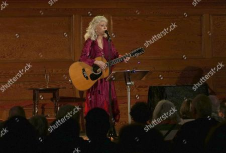 Editorial image of Judy Collins in concert, Cecil Sharp House, London, UK - 24 Jan 2019
