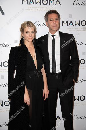 French actress Melanie Laurent and Prince Emanuele Filiberto