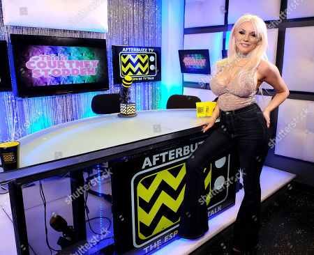 Stock Picture of Courtney Stodden