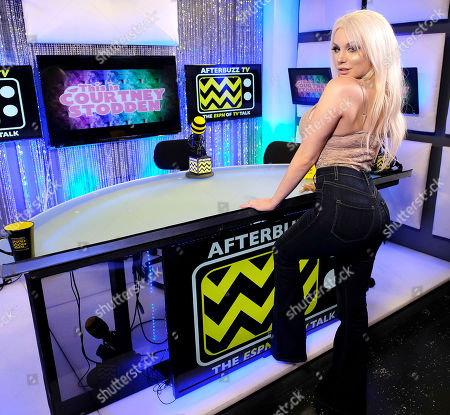 Editorial photo of Courtney Stodden hosts her first show on AfterBuzz TV, Los Angeles, USA - 24 Jan 2019