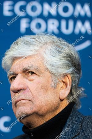 Maurice Levy, Chairman of the Supervisory Board, Publicis Groupe, attends a panel session at the 49th annual meeting of the World Economic Forum (WEF) in Davos, Switzerland, 25 January 2019. The meeting brings together entrepreneurs, scientists, corporate and political leaders in Davos under the topic 'Globalization 4.0' from 22 to 25 January 2019.