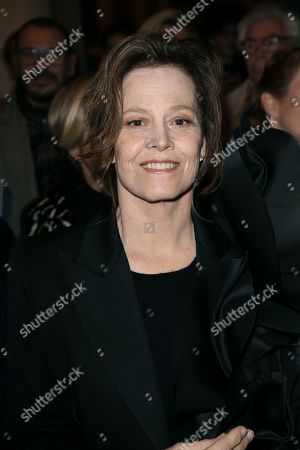 Sigourney Weaver in the front row