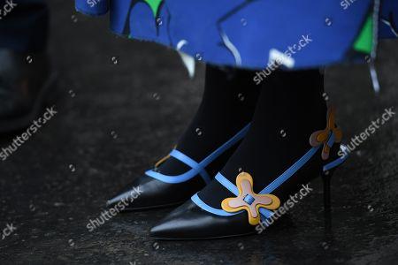 Leaf Greener, shoe detail