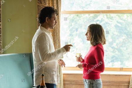 Irrfan Khan as Robert and Kelly Macdonald as Agnes