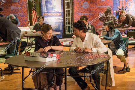 Stock Photo of Kelly Macdonald as Agnes and Irrfan Khan as Robert