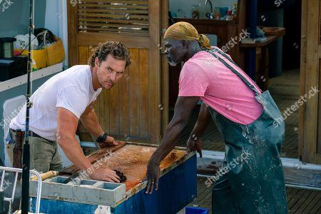 Matthew McConaughey as Baker Dill and Djimon Hounsou as Duke