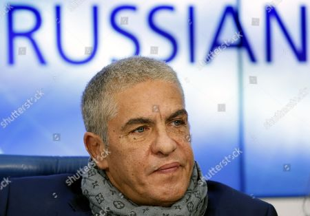 Editorial image of News conference of French actors Samy Naceri in Moscow, Russian Federation - 25 Jan 2019