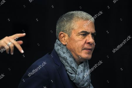 Stock Picture of Samy Naceri attends a news conference in Moscow, Russia, 25 January 2019, on occasion of the premiere of the feature film 'Gone Into Fog' by Russian film director Vera Sokolova. The premiere of the movie is expected in September 2019.