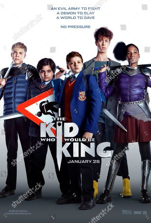 Editorial image of 'The Kid Who Would Be King' Film - 2019