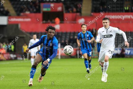 Swansea City v Gillingham Stock Photos (Exclusive