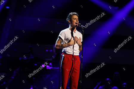Editorial photo of 'The Voice UK' TV Show, Series 3, Episode 4, UK - 26 Jan 2019