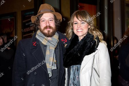 Stock Photo of John Gallagher, Jr., Libby Winters