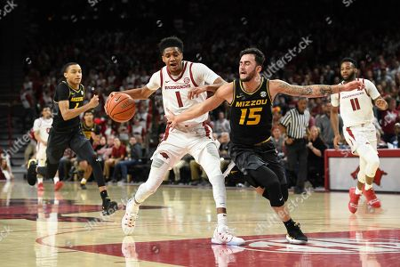 Editorial photo of Missouri Arkansas Basketball, Fayetteville, USA - 23 Jan 2019