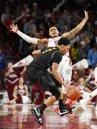 Editorial image of Missouri Arkansas Basketball, Fayetteville, USA - 23 Jan 2019