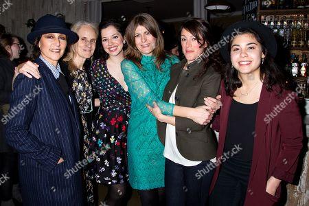 Stock Image of Lisa Ramirez, Wendy Vanden Heuvel, Amy Berryman, Annabel Capper, Samantha Soule, Brittany Anikka Liu