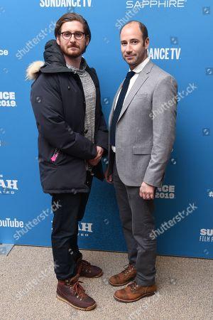 Christopher Leggett and Rafael Marmor