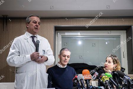 Professor Franco Locatelli, Paolo Montresor, father of Alex, Italian Minister of Healthy Giulia Grillo