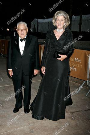 Dr. Henry A. Kissinger and wife Nancy Kissinger