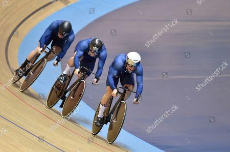Editorial photo of 2019 HSBC UK National Track Championships. Manchester, UK - 25 Jan 2019