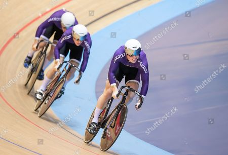 Editorial picture of 2019 HSBC UK National Track Championships. Manchester, UK - 25 Jan 2019