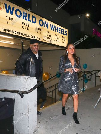Stock Photo of Adrienne Houghton and Israel Houghton
