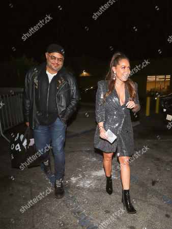 Stock Image of Adrienne Houghton and Israel Houghton