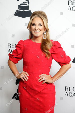 Lee Ann Womack arrives at a party for Grammy nominees, in Nashville, Tenn