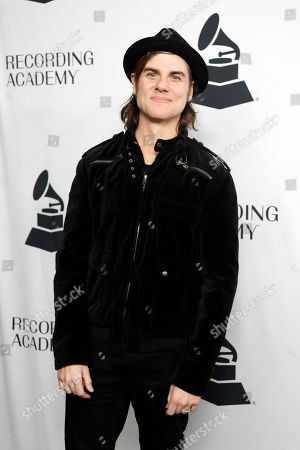 Ross Copperman arrives at a party for Grammy nominees, in Nashville, Tenn