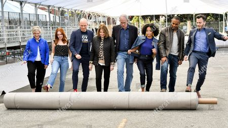 Lisa Burns, Elizabeth McLaughlin, Anthony Carrigan, Kathy Connell, Daryl Anderson, Yara Shahidi, Jason Winston George and JD Heyman