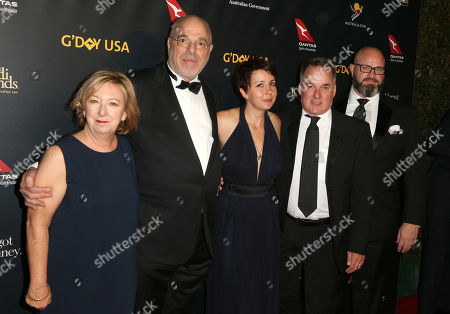 Stock Photo of Greg Basser, Kiera O'Neill, Graeme Mason, Meg White and guest