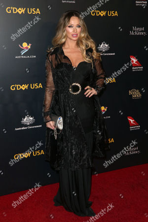 Editorial picture of G'Day USA Gala, Arrivals, 3Labs, Los Angeles, USA - 26 Jan 2019