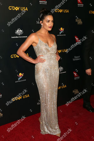 Editorial photo of G'Day USA Gala, Arrivals, 3Labs, Los Angeles, USA - 26 Jan 2019