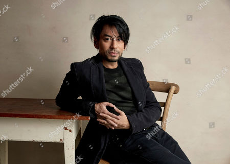 "Stock Picture of Vik Sahay poses for a portrait to promote the film ""The Infiltrators"" at the Salesforce Music Lodge during the Sundance Film Festival, in Park City, Utah"