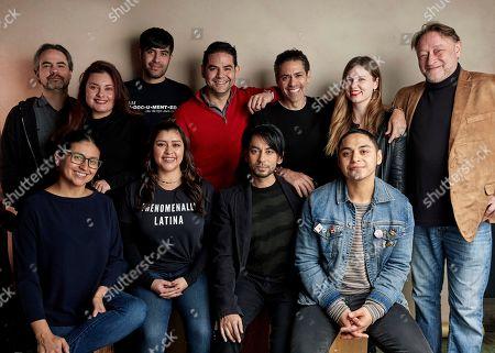 "Editorial image of 2019 Sundance Film Festival - ""The Infiltrators"" Portrait Session, Park City, USA - 25 Jan 2019"