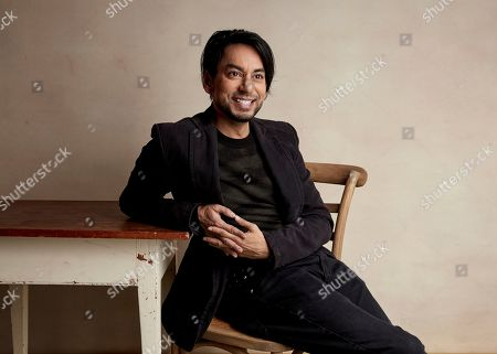 "Vik Sahay poses for a portrait to promote the film ""The Infiltrators"" at the Salesforce Music Lodge during the Sundance Film Festival, in Park City, Utah"