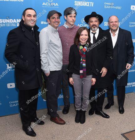 Michael DiVerdi, Kerry Orent, Danny Gabai, Natalie Farrey, Eddy Moretti and TJ Rinomato