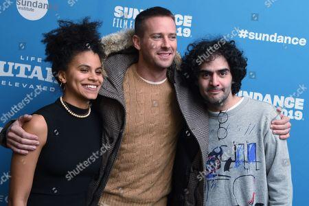 Zazie Beetz, Armie Hammer and Babak Anvari