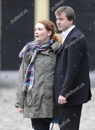 John Stape, played by Graham Hawley and Fiz played by Jennie McAlpine.