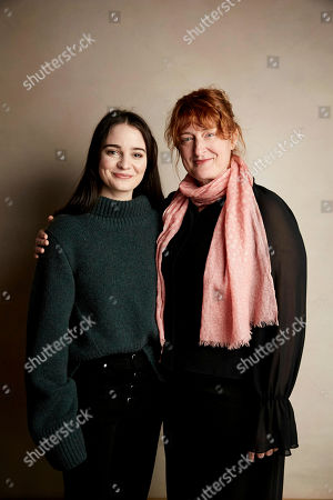 """Aisling Franciosi, Jennifer Kent. Aisling Franciosi, left and director Jennifer Kent pose for a portrait to promote the film """"The Nightingale"""" at the Salesforce Music Lodge during the Sundance Film Festival, in Park City, Utah"""