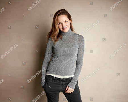 """Jordana Spiro poses for a portrait to promote the film """"To the Stars"""" at the Salesforce Music Lodge during the Sundance Film Festival, in Park City, Utah"""