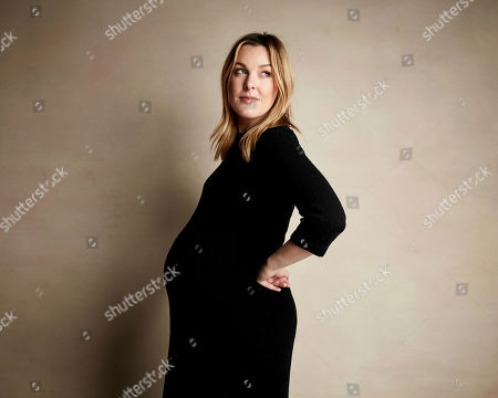 """Anna Margaret Hollyman poses for a portrait to promote the film """"Sister Aimee"""" at the Salesforce Music Lodge during the Sundance Film Festival, in Park City, Utah"""