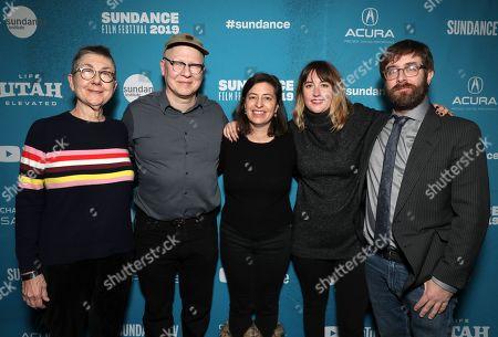Stock Picture of Director Julia Reichert, Director Steven Bognar, Producer Julie Parker Benello, Editor Lindsay Utz and Producer Jeff Reichert
