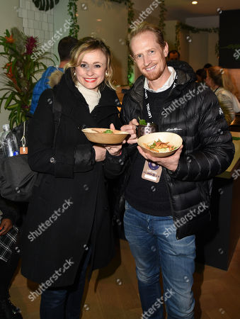 Stock Photo of Darren Darnborough and guest