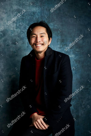 "Justin Chon poses for a portrait to promote the film ""Ms. Purple"" at the Salesforce Music Lodge during the Sundance Film Festival, in Park City, Utah"