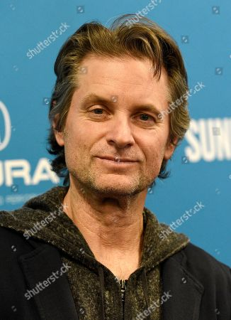 """Shea Whigham, a cast member in """"To the Stars,"""" poses at the premiere of the film during the 2019 Sundance Film Festival, in Park City, Utah"""