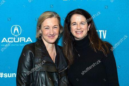 Gail Egan and Andrea Calderwood